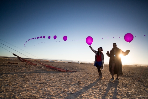the balloon carriers
